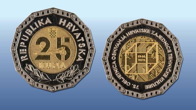 Od sada ćete moći plaćati i novom kovanicom od 25 kuna