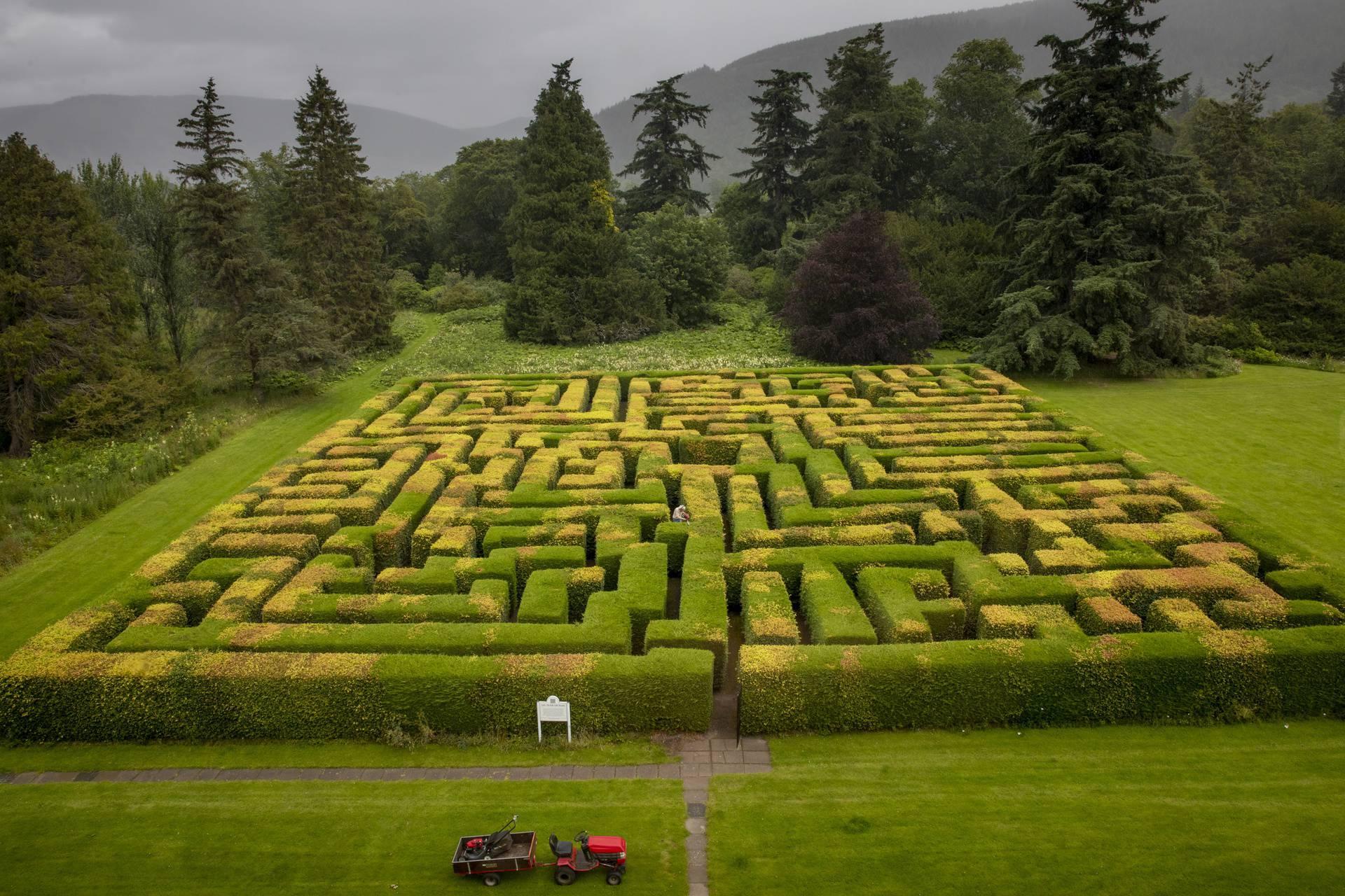 Labirint pred otvaranje