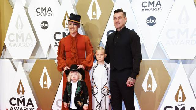The 53rd Annual CMA Awards - Arrivals - Nashville, Tennessee, U.S.