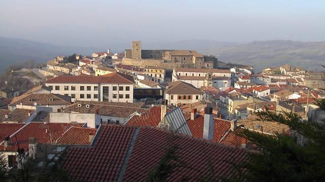 Talijansko mjesto Bisaccia