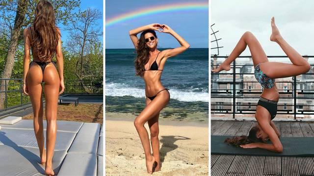 Anđelica Izabel: Vježbam da se osjećam dobro, a obožavam pilates, kickboxing, jogu, SUP