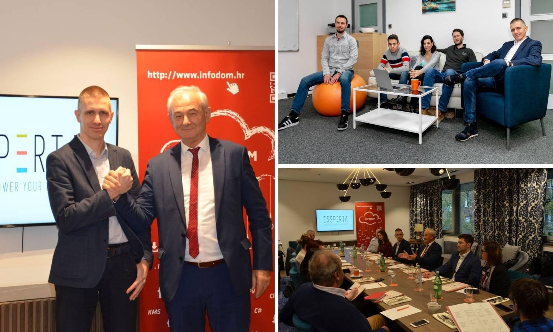 Essperta i InfoDom grupa objavili strateško povezivanje