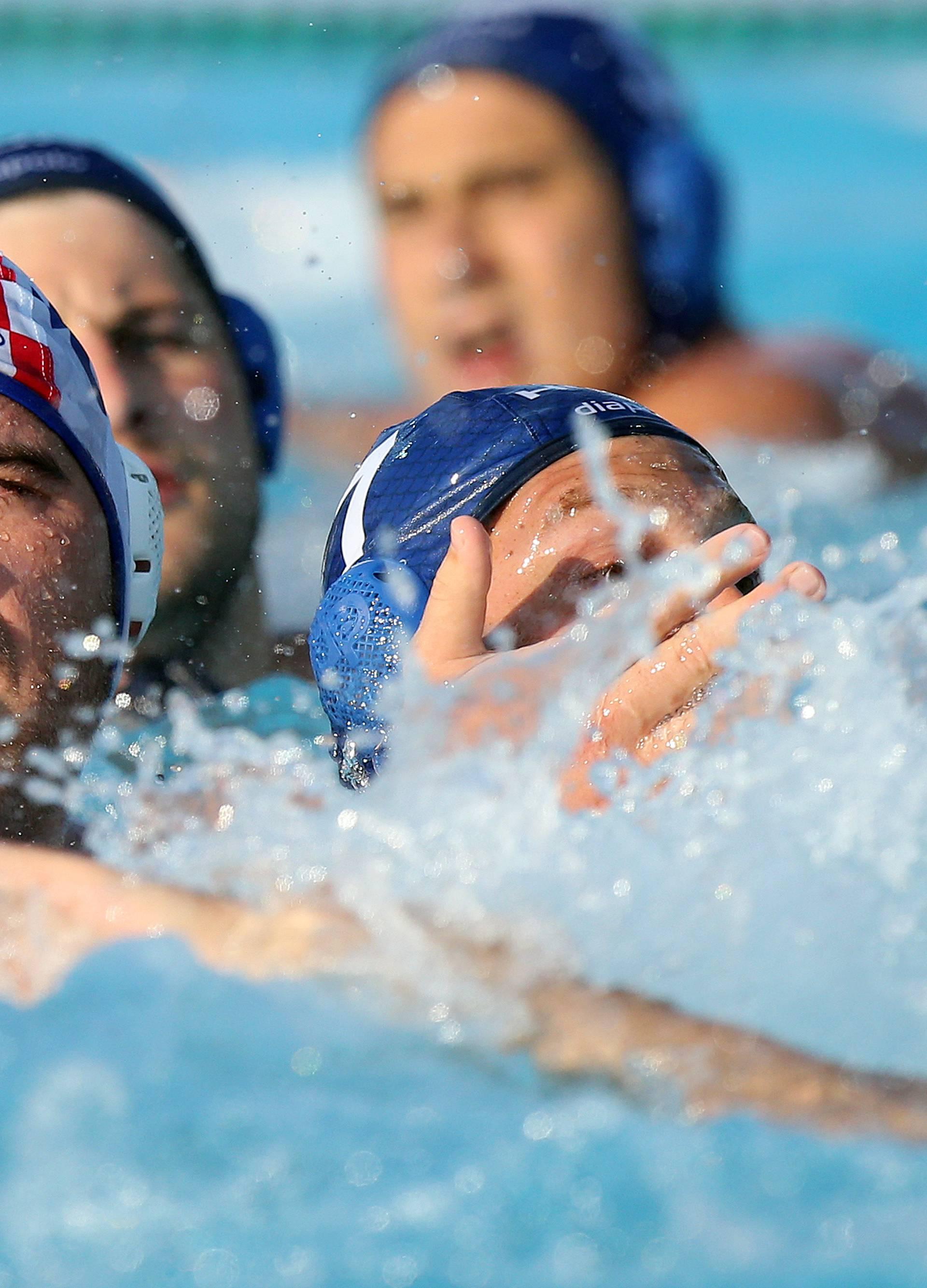 Zagreb: Pripremna prijateljska vaterpolo utakmica Hrvatska - Mađarska uoči odlaska na EP u Španjolsku