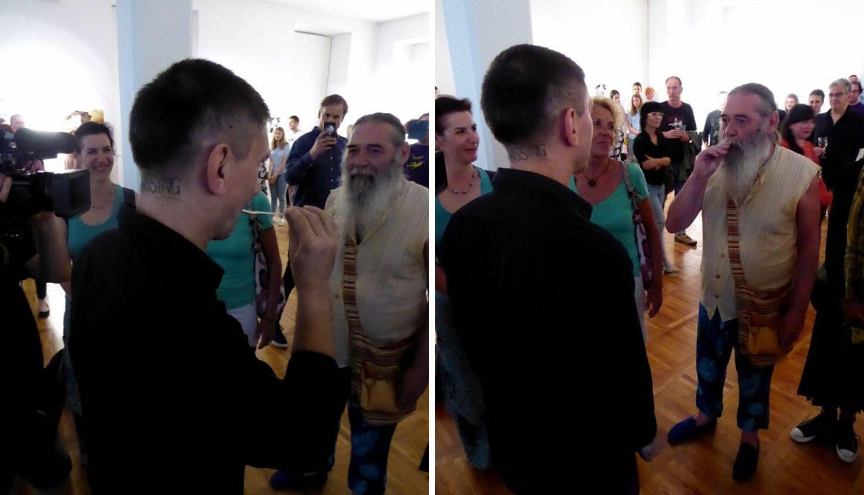 Ljudi lizali istu žlicu, umjetnik Labrović: 'Performans je bio glup, neobazriv i lakomislen'
