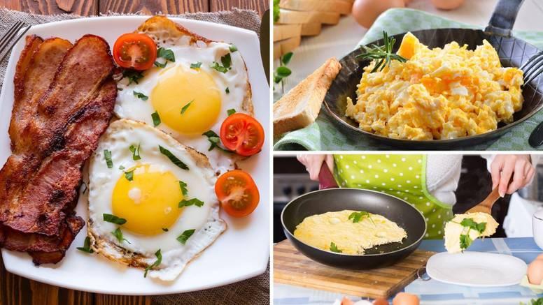 5 načina kako pripremiti jaja: Hrskavo ispečena, u vrhnju...