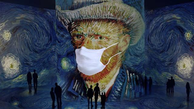 Muzeji se snalaze: Zbog korone izložbu Van Gogha preselili u skladište i organizirali drive-in
