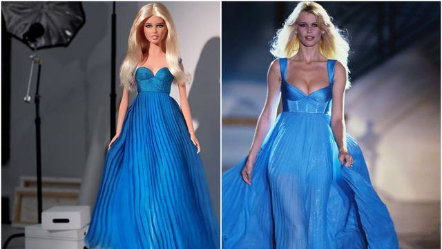 Claudia Schiffer dobila je Barbie