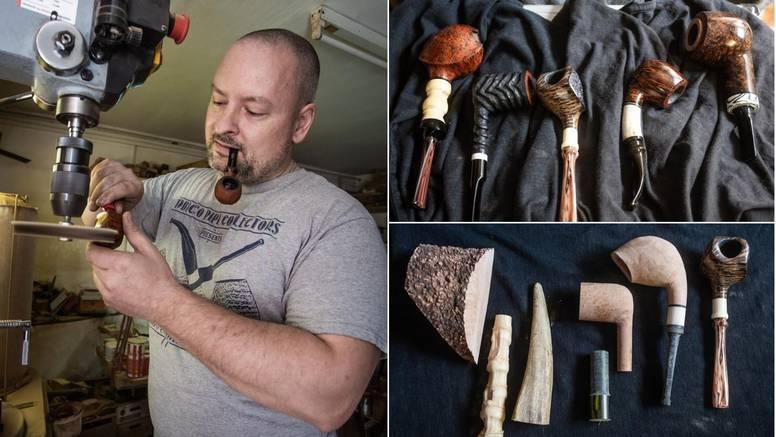 Daniel iz Osijeka radi unikatne lule: Nekoliko ekskluzivnih sam prodao i za oko 1000 eura