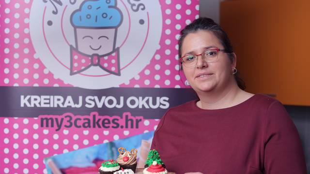 Božićni cupcakesi: Iznenadite djecu snjegovićem, Rudolfom...