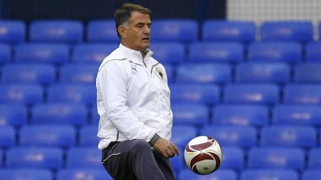 Soccer - UEFA Europa League - Group I - Everton v AEK Athens - AEK Athens Training - Goodison Park