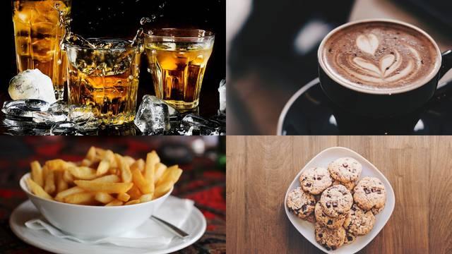 Hrana koja kvari raspoloženje: Pomfrit, alkohol, sok, kofein...