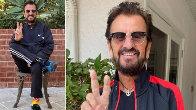 Ringo Starr (80) i dalje žari i pali. I izgleda nevjerojatno!