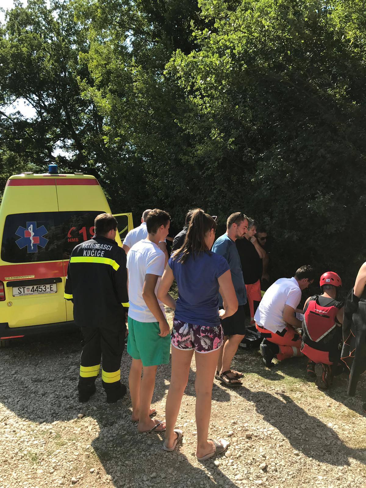 Nesreća kod Omiša: U kanjonu Cetine ozlijedila se jedna žena