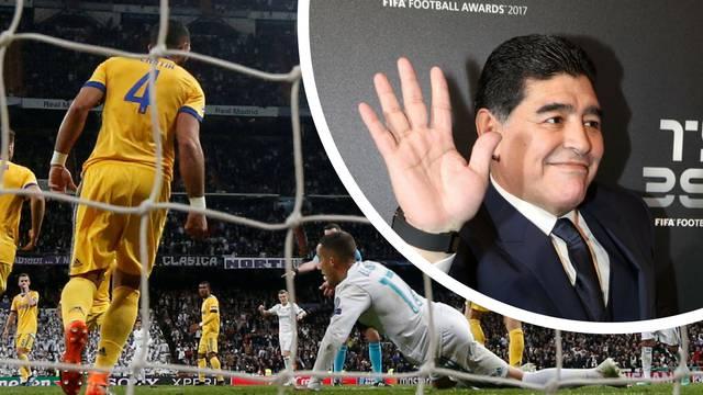 Maradona: Penala nije bilo! On se bacio, a isto bih učinio i ja...