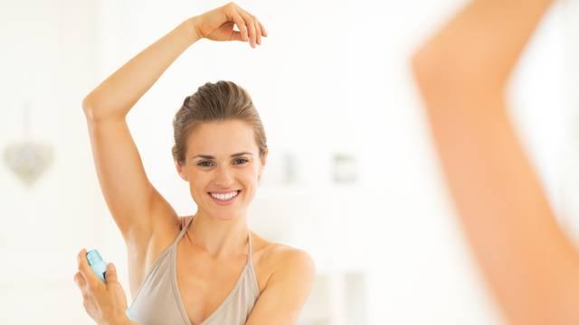 Dezodoransi dulje djeluju ako imaju više soli aluminija i cinka
