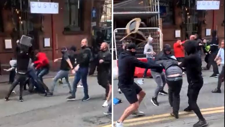 VIDEO Kaos u Engleskoj: Tuku se navijači Manchestera i Leedsa