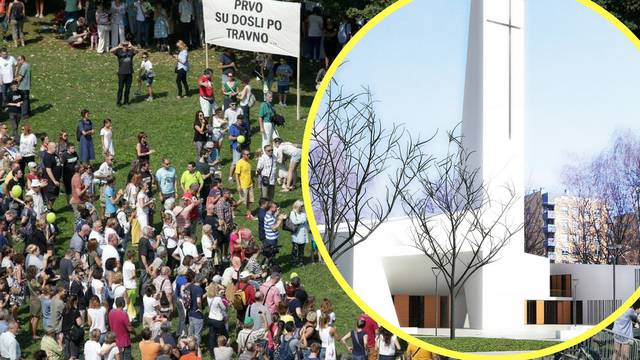 Stanovnici Savice žele crkvu, ali ne na mjestu velikog parka