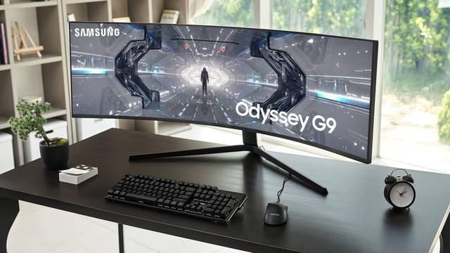 Gaming grdosija: Zakrivljeni Samsung Odyssey ide u prodaju