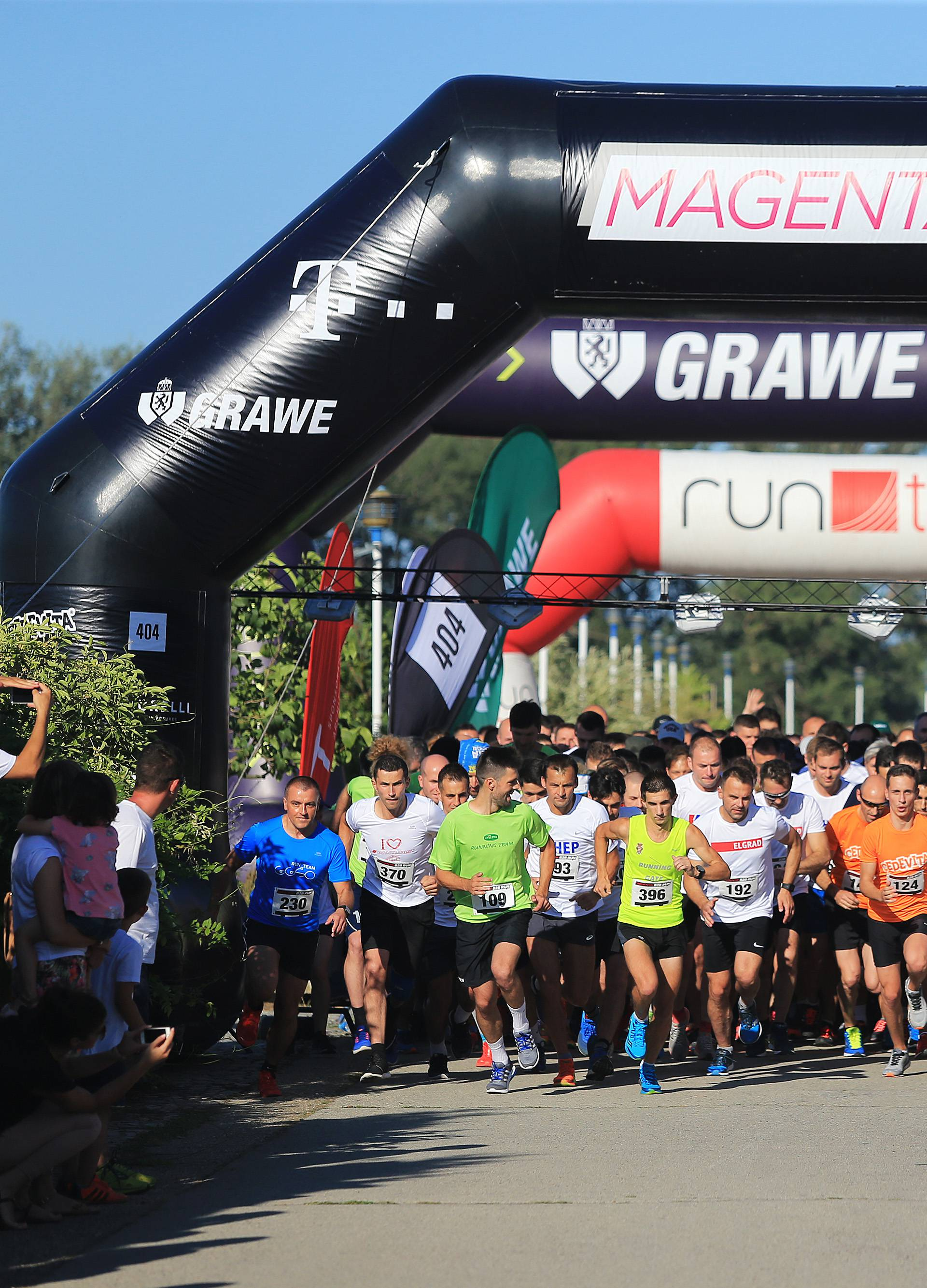 Zagreb: Na završnoj Magenta B2B Run više od 6000 trkača