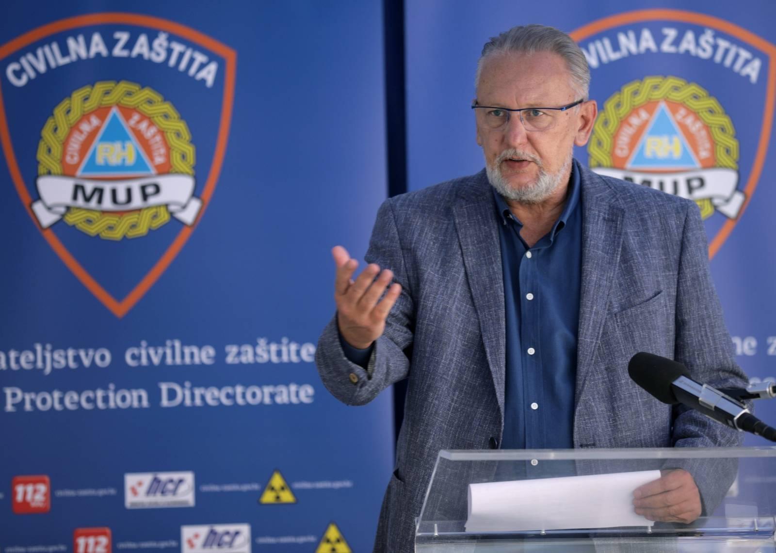 Zagreb: Konferencija za medije Nacionalnog stožera civilne zaštite