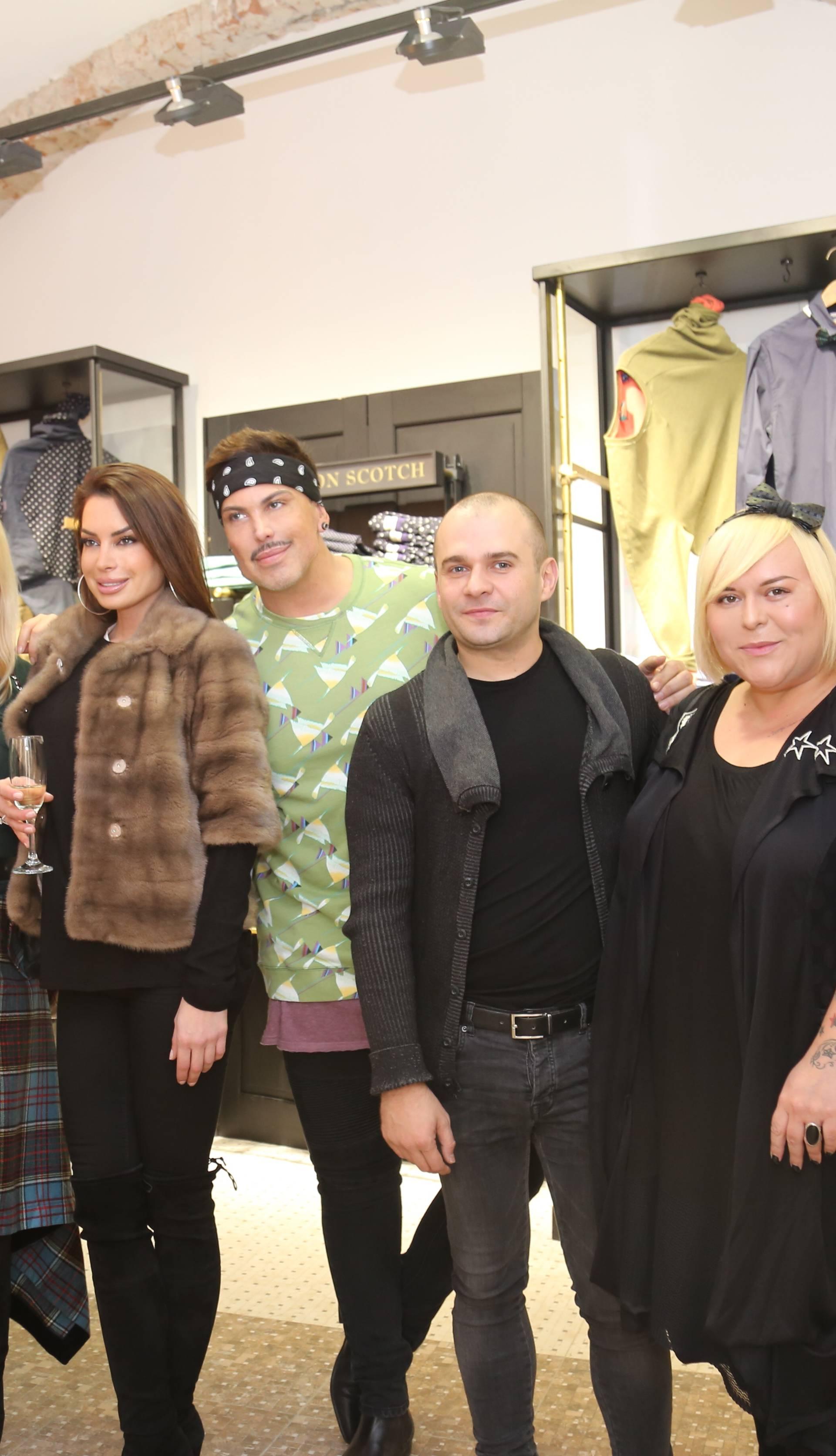 Brojna poznata lica uživala na otvorenju nove modne adrese
