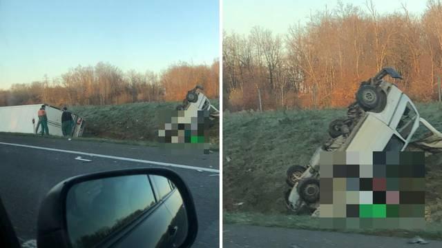 Poginulo četvero na autocesti: 'Stradali iz kombija su radili na pošumljavanju kraj Karlovca'