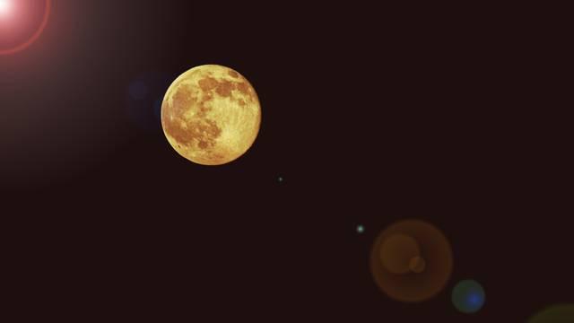 Nebo će od petka do nedjelje obasjavati 'Mjesec jagoda'