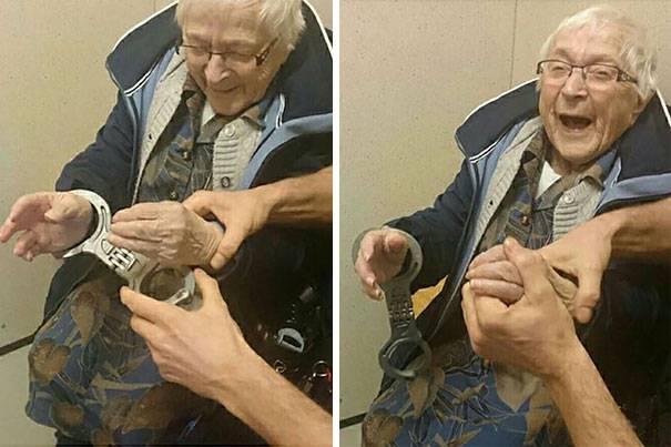 Uhićena starica
