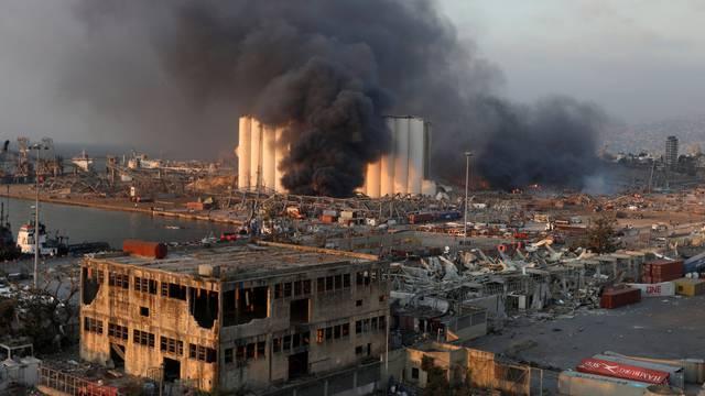 Strašna eksplozija u Bejrutu: 'Poginuli su mi prijatelji, neki su ostali bez doma, bez obitelji'