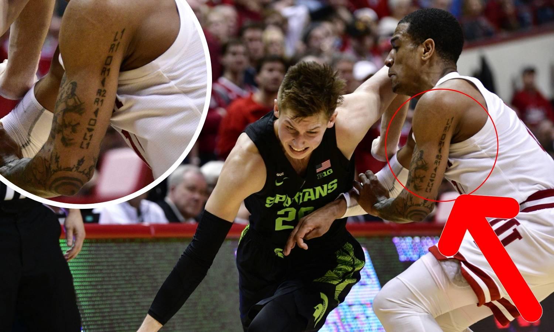 GTA je život: NCAA košarkaš ima tetoviranu 'šifru za oružje'