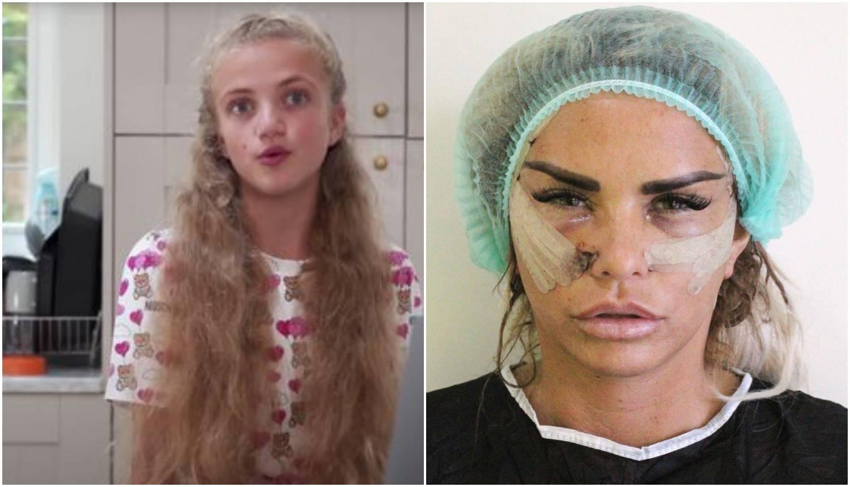 Starletina kći neće na operacije, ne želi biti poput majke Katie