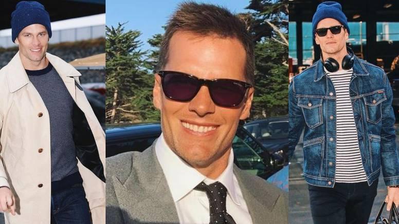Tom Brady ima fantastičan stil: Traper za put, odijelo za večer