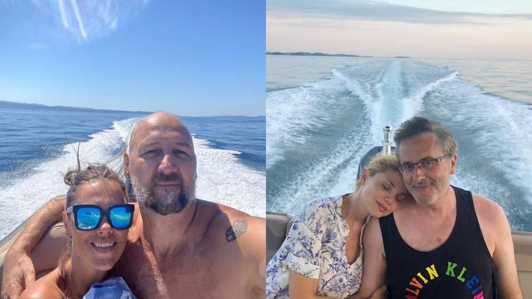 Filipovići i Rađe ljetuju zajedno: Lejla i Viktorija se fotkaju dok Tarik i Dino uživaju sa sinovima