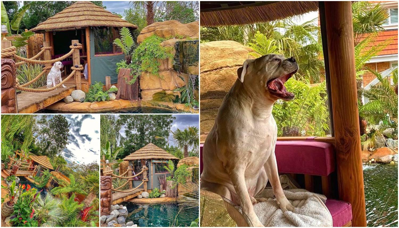 Rajsko odmaralište: Tri godine je uređivao vrt za bolesnog psa