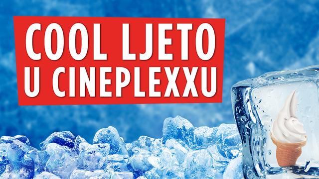 Osvježite se uz cool ljeto u Cineplexxu uz ledeno osvježenje