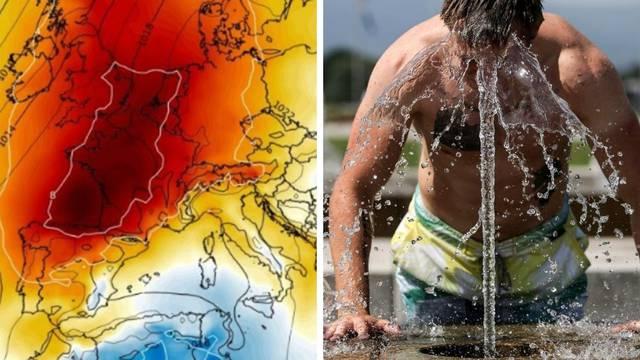 Ekstremne vrućine opet dolaze u Europu: Bit će do čak 43°C