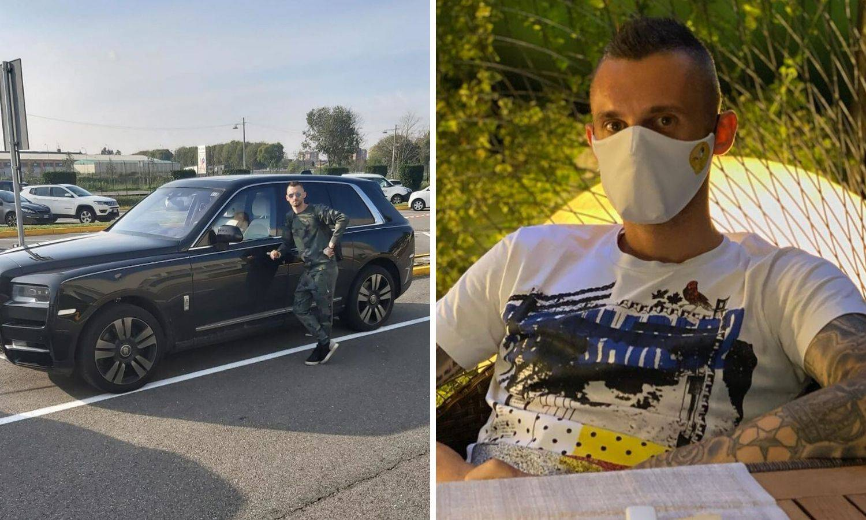 Oduzeli mu vozačku jer je pijan vozio pa obećao: Samo voda! Perišić mu dao novi nadimak...