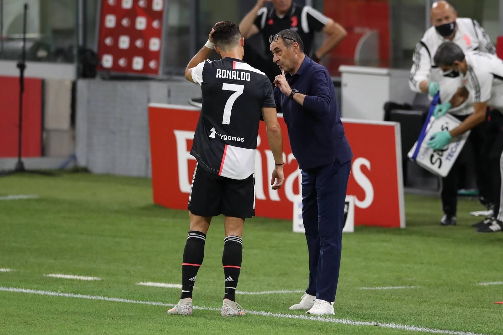 AC Milan v Juventus - Serie A - Giuseppe Meazza