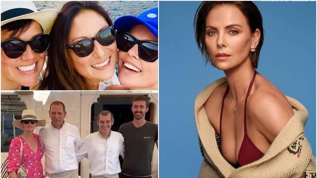 Uživa u Dubrovniku: Charlize objavila fotku s prijateljicama