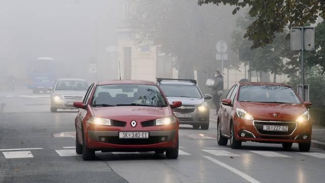 Jutarnja magla u Sisku