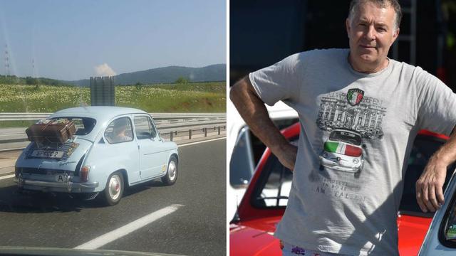 Obnovio ga: 'S Fićom starim 63 godine pretječem i BMW-e'