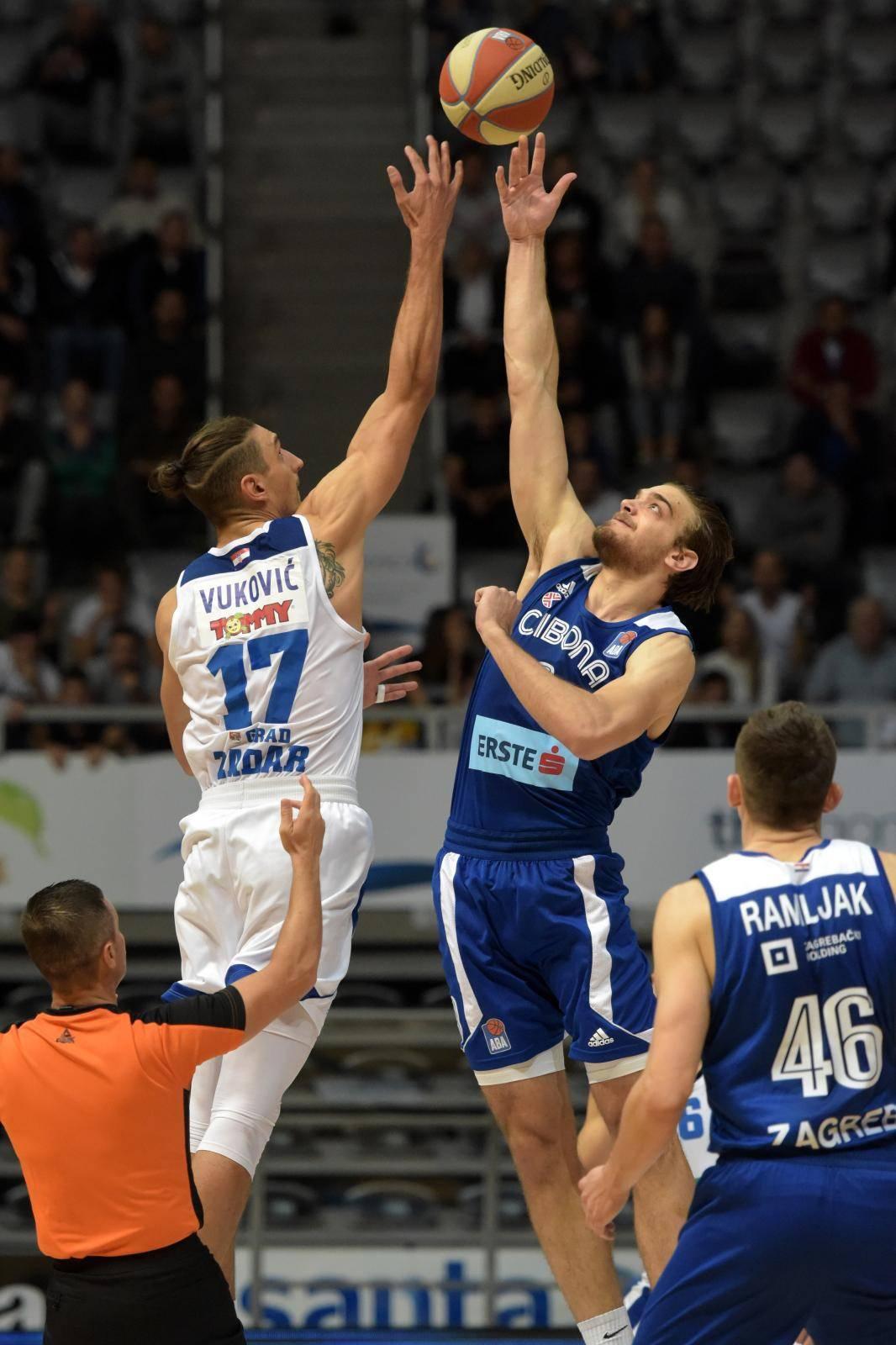 Zadar: U 4. kolu ABA lige susreli se Zadar i Cibona