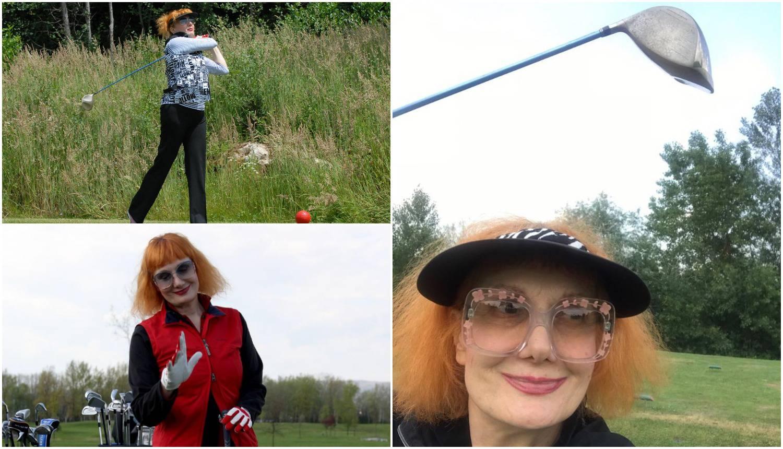 Omiljeni sport: Josipa Lisac i nakon 14 godina vjerna golfu
