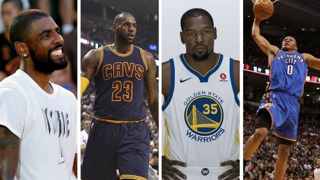 NBA sezona za supermomčadi: GSW, Cavsi, OKC ili Celticsi?