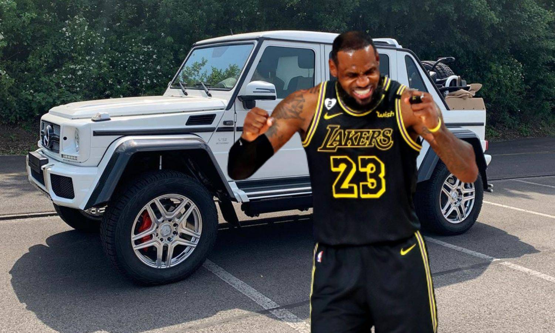 Kralj se počastio: LeBron kupio Mercedes vrijedan 1,5 mil. $