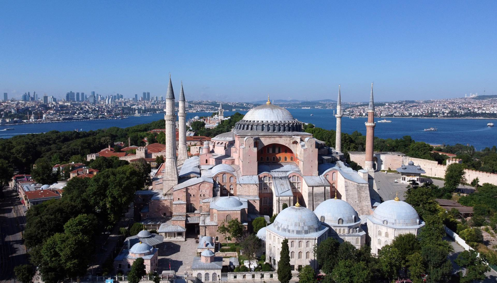 FILE PHOTO: Hagia Sophia or Ayasofya is seen in Istanbul