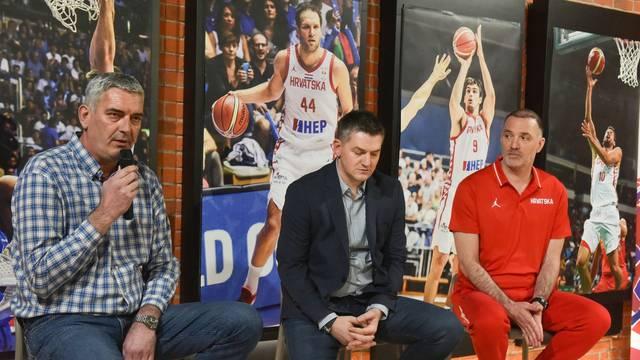 Zagreb: Čelnici HKS predstavili olimpijski kvalifikacijski košarkaški turnir