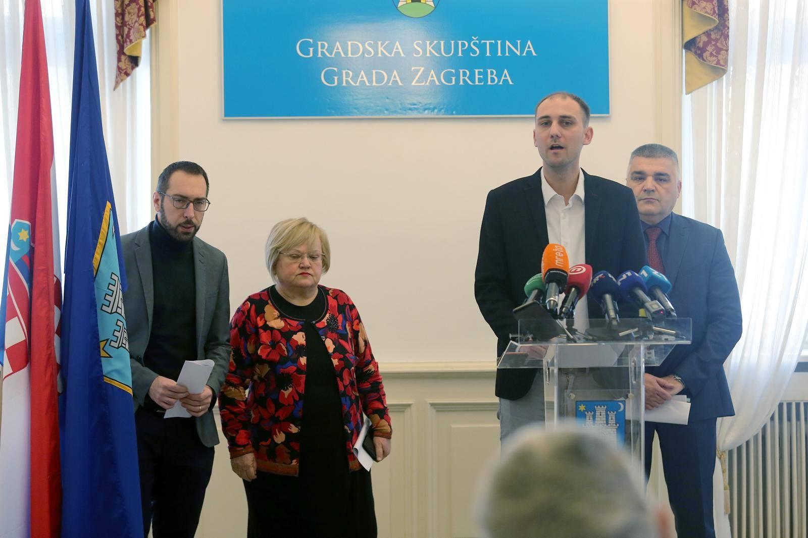 Zagreb: Zajednička konferencija oporbenih klubova zastupnika