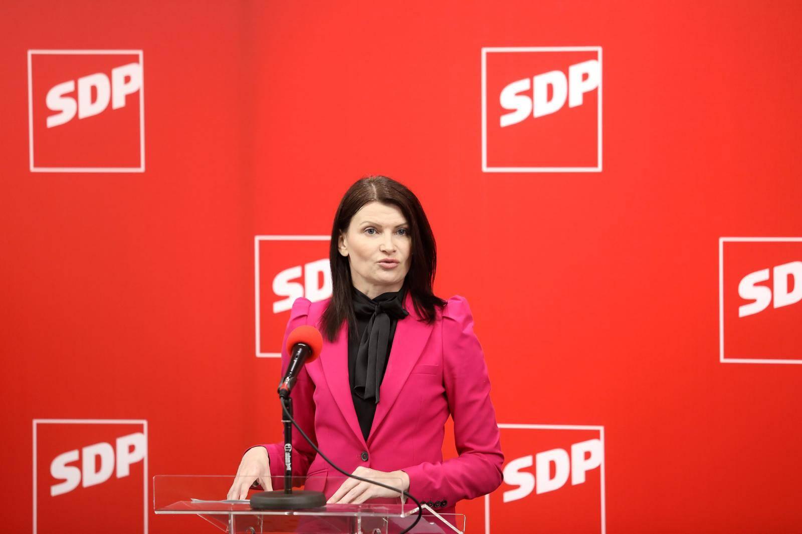 Zagreb: Konferencija za medije SDP-a o totalnom kaosu u obrazovanju