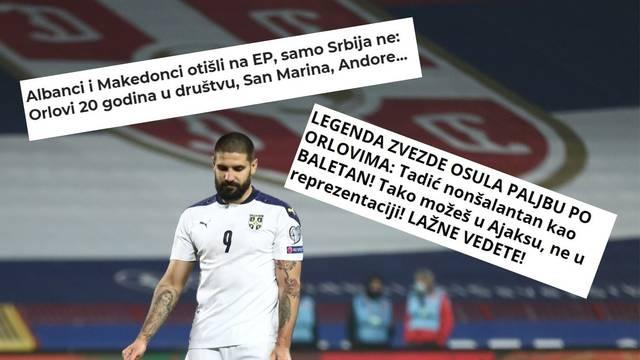 Srbi se podsmjehuju sami sebi: Čak su i Makedonci otišli na EP, a mi u društvu Andore i Malte...